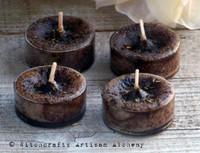 OLD WORLD PATCHOULI Artisan Tealight Candles