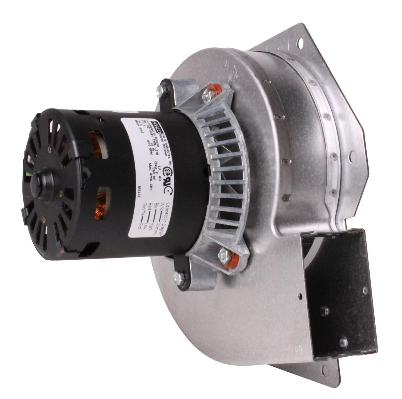 trane furnace draft inducer blower 115v  7021 8051 wiring-diagram fasco d 258
