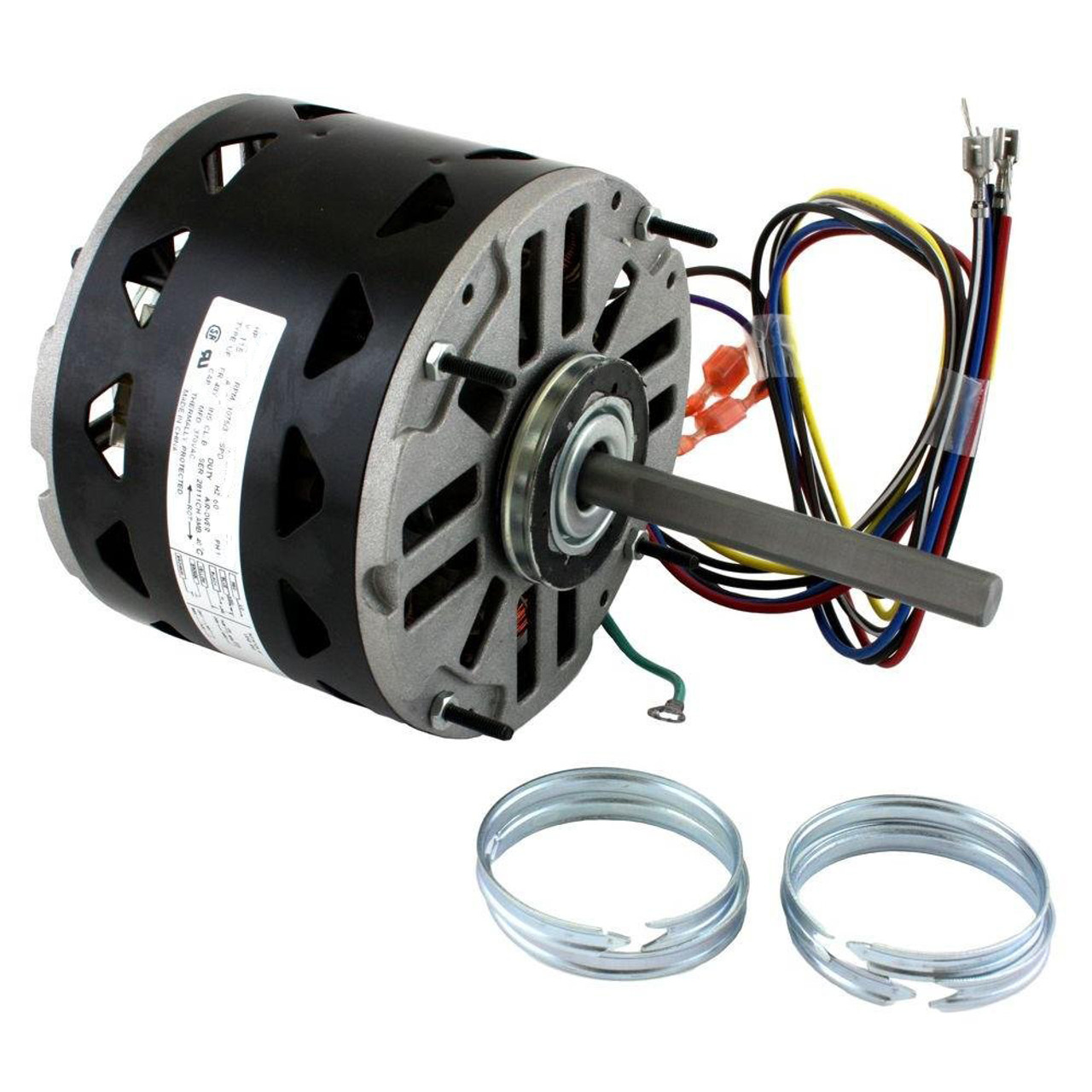 Century Dl1056 Wiring Diagram Simple Post A New Furnace Motor 1 2 Hp 1075 Rpm 3 Speed 48 Frame 115v Direct Drive Blower
