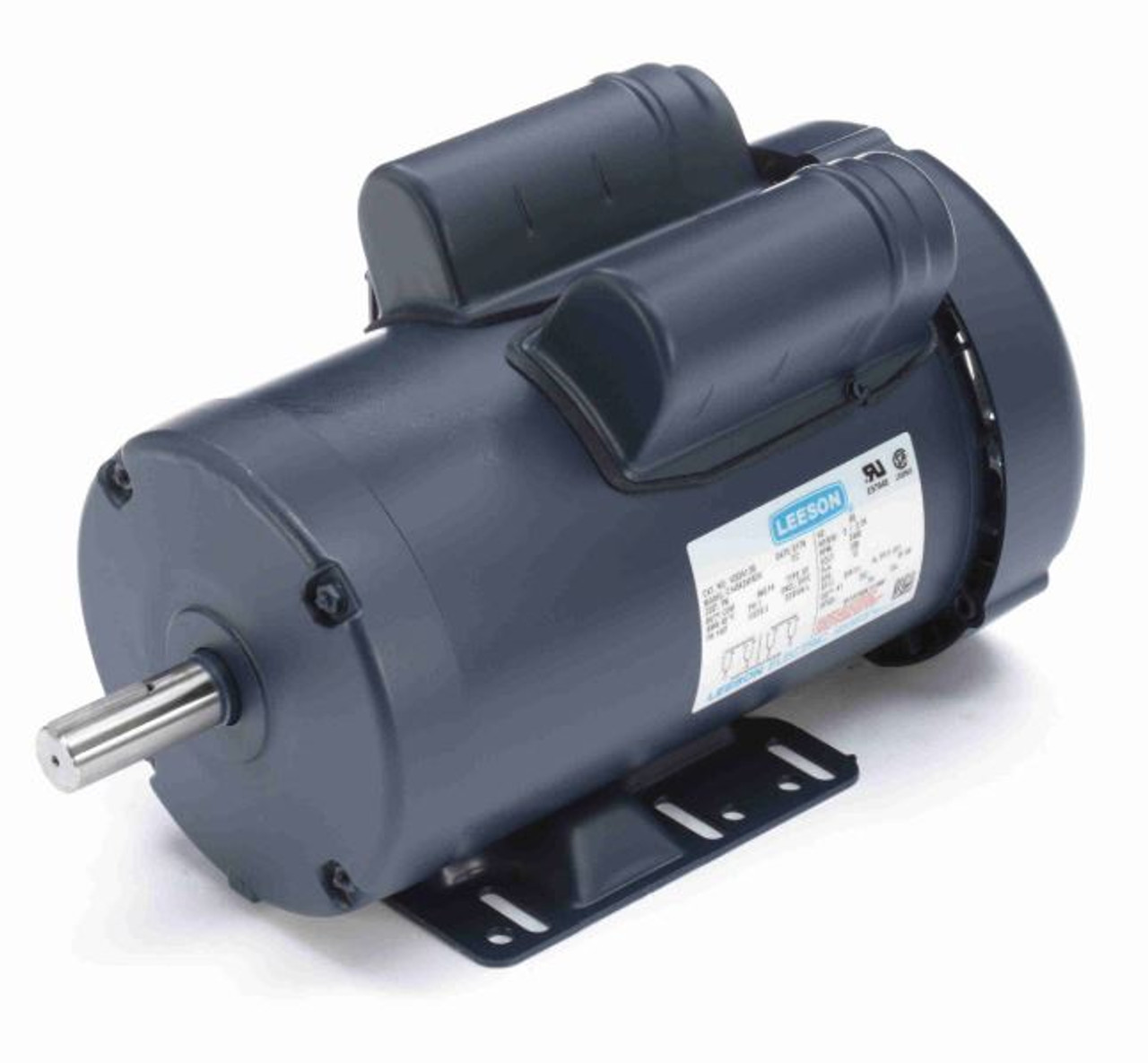 3 hp 3450 rpm 145t frame tefc 230 volts leeson electric motor 1203413 hp 3450 rpm 145t frame tefc 230v leeson electric motor 120341