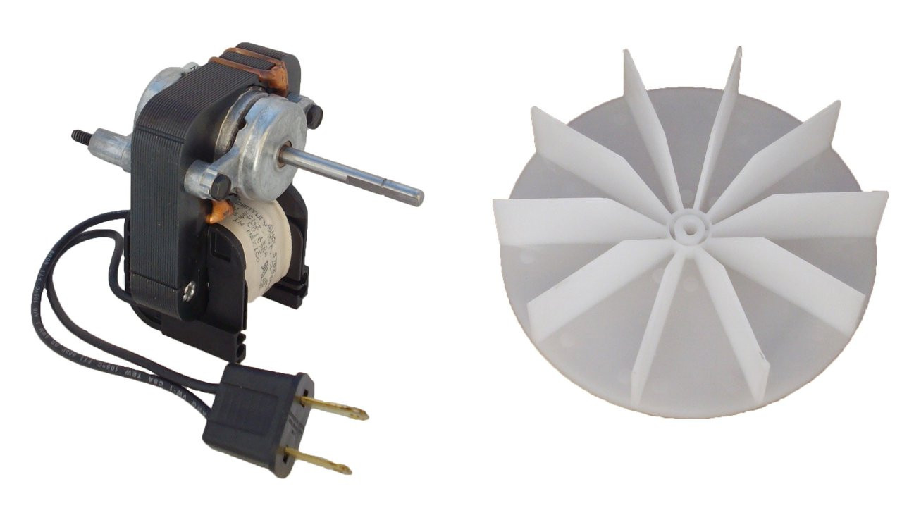 Universal Bathroom Fan Replacement Electric Motor Kit with ...