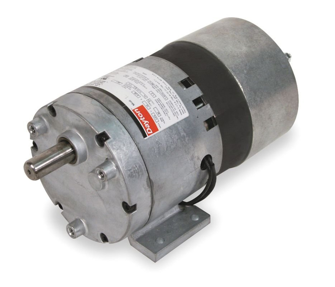 Dayton Model 1lpn7 Gear Motor 2 Rpm 1  10 Hp 115v  1l490