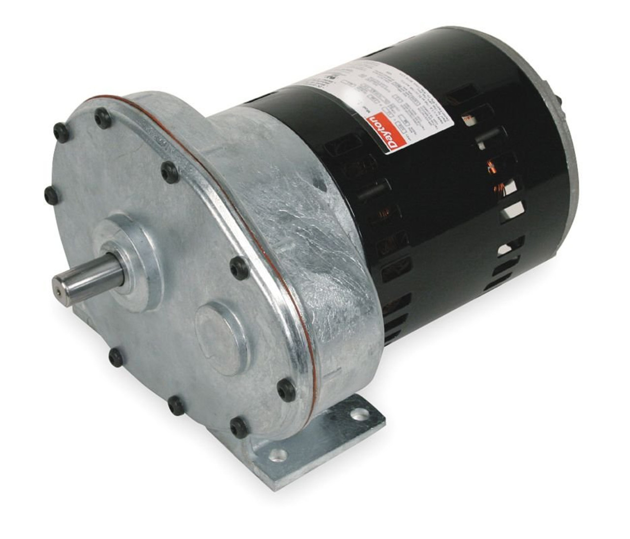 Dayton Model 1lpu5 Gear Motor 31 Rpm 1  2 Hp 115 Volts  2z794