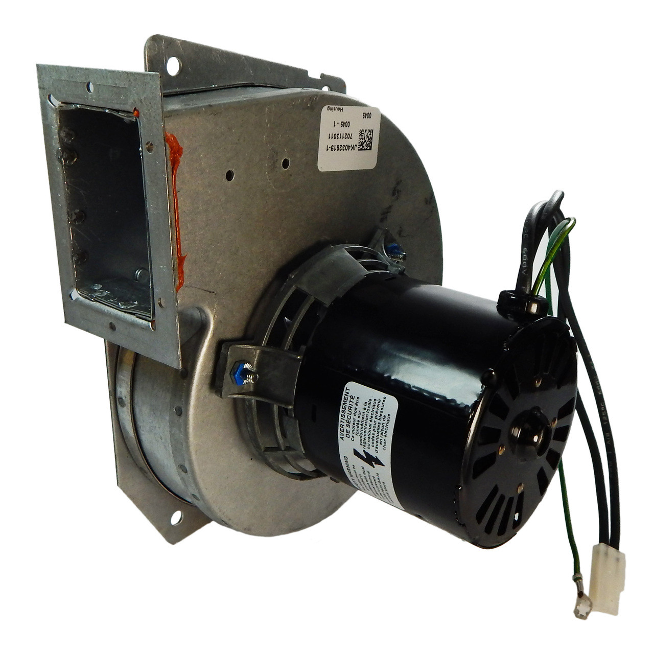 Consolidated Furnace Draft Inducer  Ja1p082  401570
