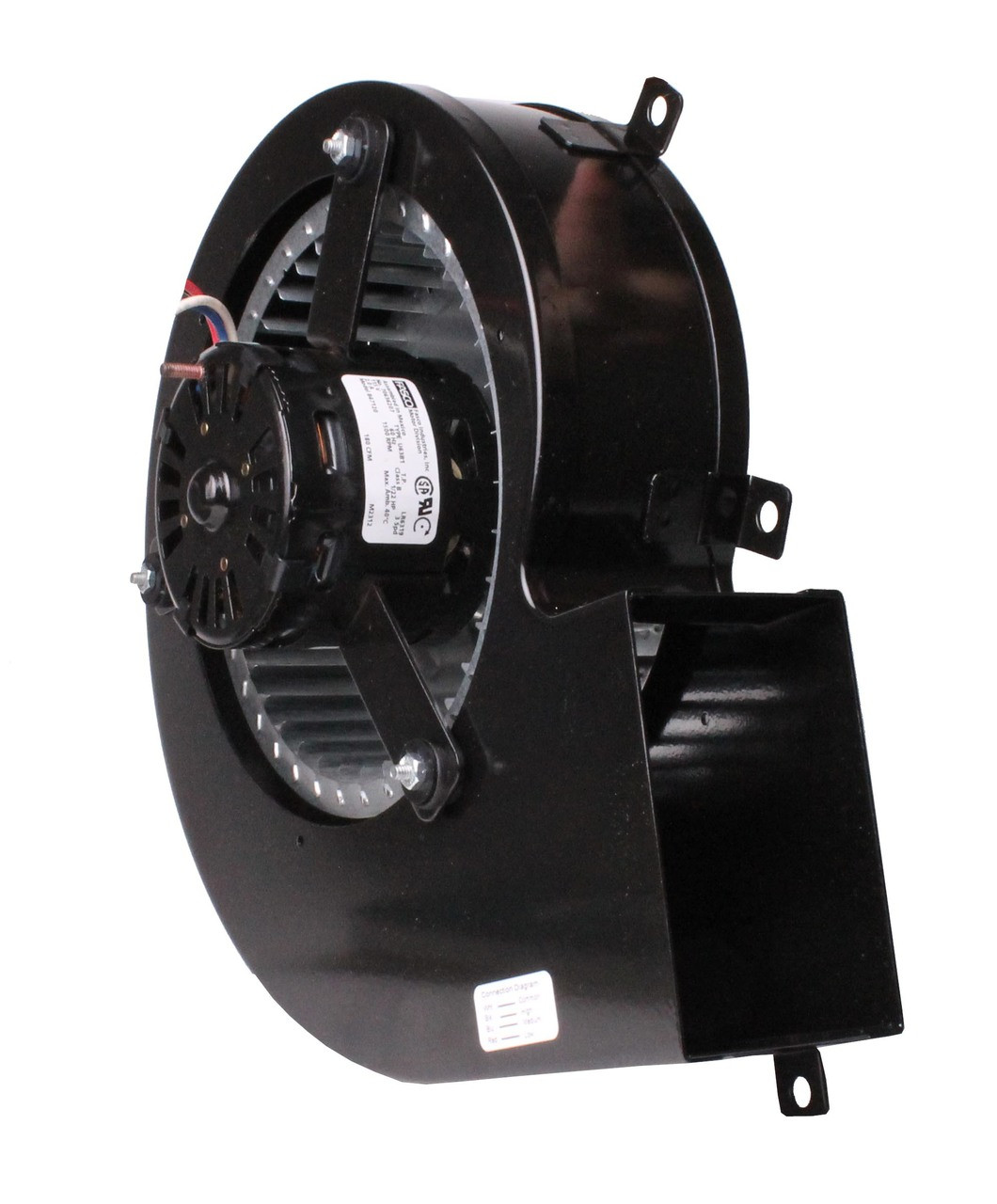 Draft Inducer Blower 115 Volts 3