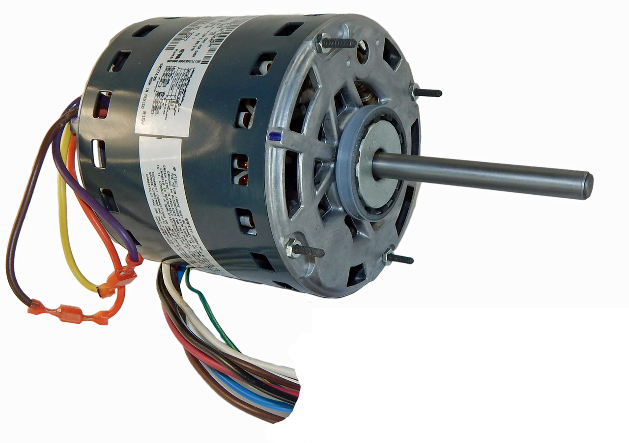 1 2 Hp 1075 Rpm 3 Speed 115v Furnace Motor 5kcp39pgn655s Genteq G3587 Single Phase Wiring Diagram As Well Fan
