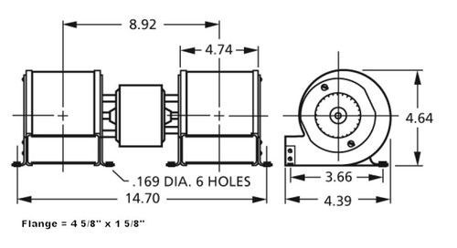 centrifugal blower 115v 7021