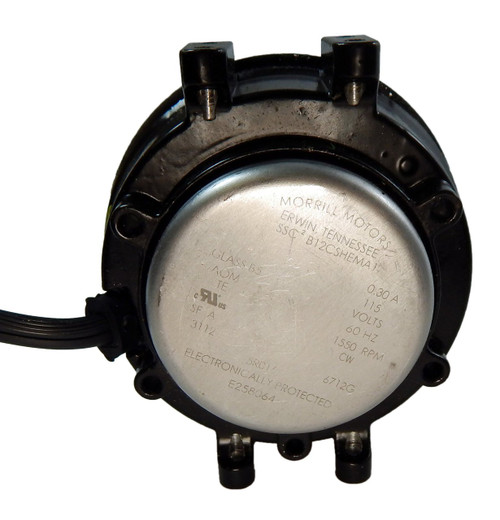 25 Watt Cwle 115v Ecm Unit Bearing Fan Motor Morrill