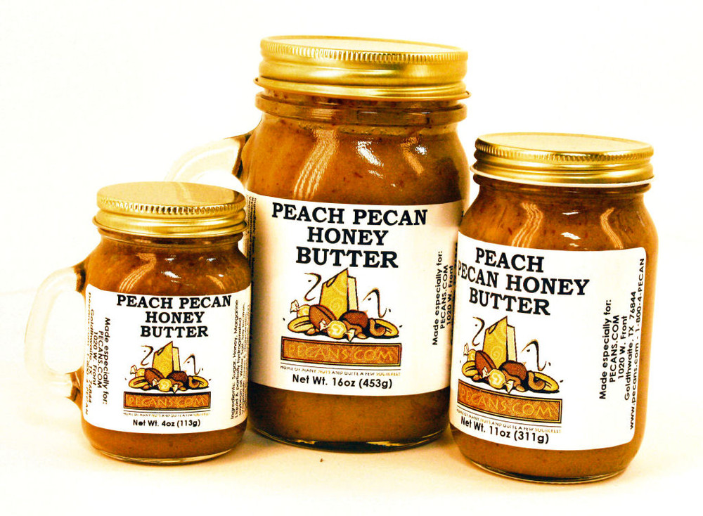 Peach Pecan Honey Butter