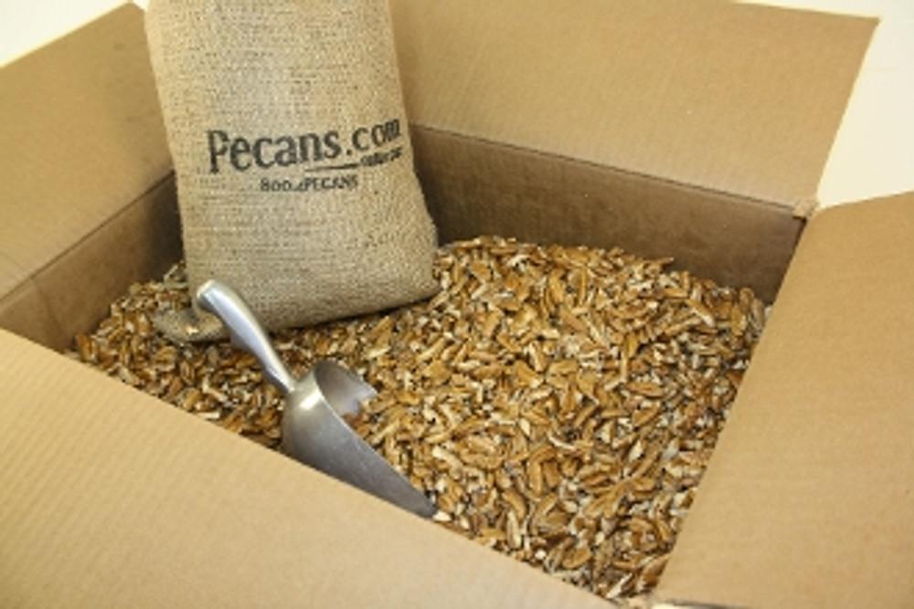 Fresh Shelled Fancy Pecan Pieces BULK 30 lbs
