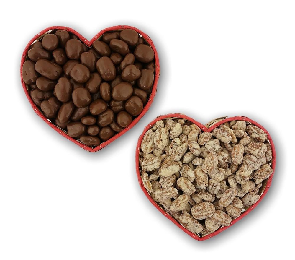 Heart Gift Basket