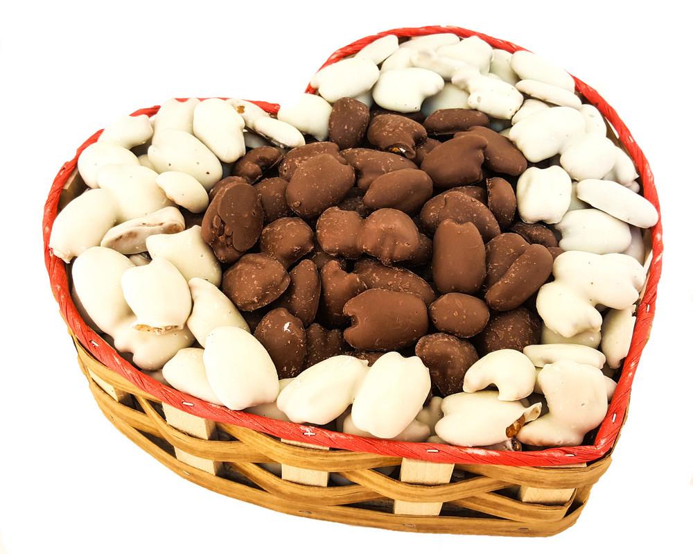 Heartful of Chocolate Gift Basket