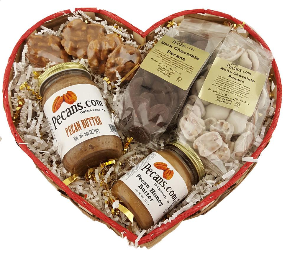 Heartful of Goodies Gift Basket