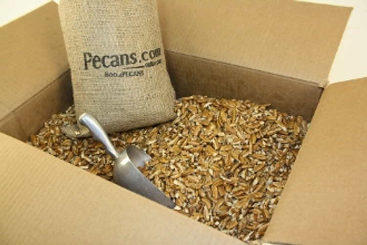 Fresh Shelled Fancy Pecan Pieces BULK 30 lbs