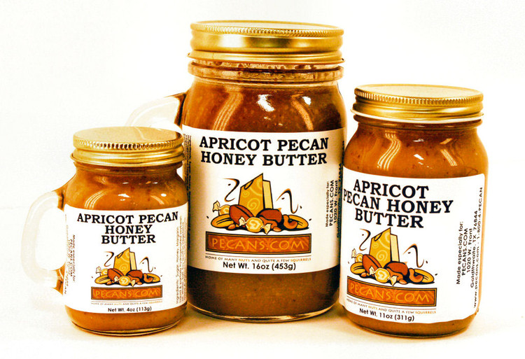 Apricot Pecan Honey Butter