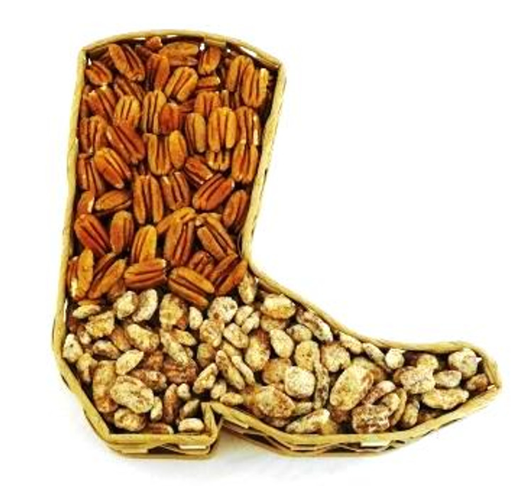 Cowboy Boot Basket