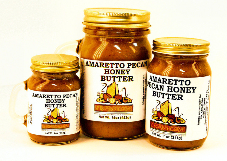 Amaretto Pecan Honey Butter