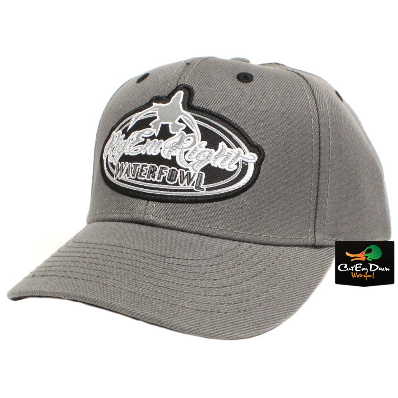 73fccdb20f4 Rig Em Right Waterfowl Solid Gray Hat
