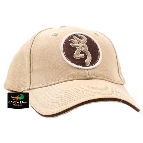 hot sale online 851b2 37b10 get browning rhino hide buckmark cap brown 197c7 dde27  netherlands browning  dakota canvas cap tan 83a78 6875e