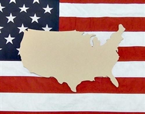 States Amp Countries Unfinished Cutout Wooden Paintable