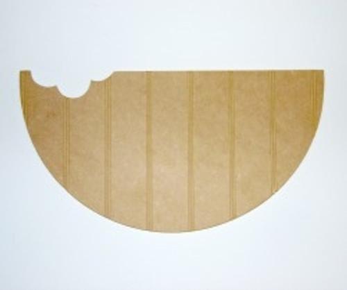 Wood Watermelon Cutout Beadboard Shape Paintable MDF DIY Craft