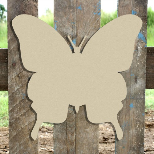Butterfly2 Unfinished Cutout, Wooden Shape, MDF DIY Craft2