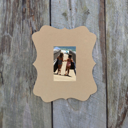 Wooden Picture Frames, Custom Wood Picture Frame, Unfinished Frame