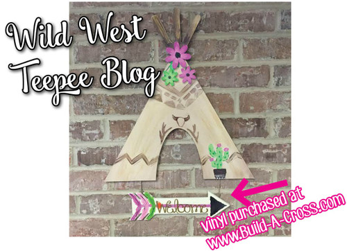 Tepee (DIY) Wooden Shape