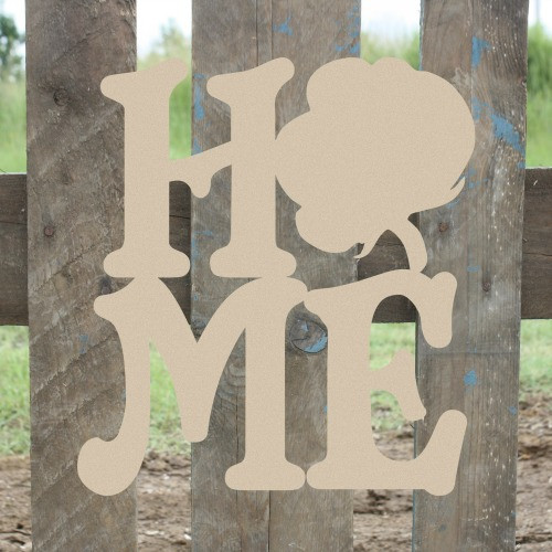 Home Cotton Sign Wall Art Wooden DIY Craft MDF