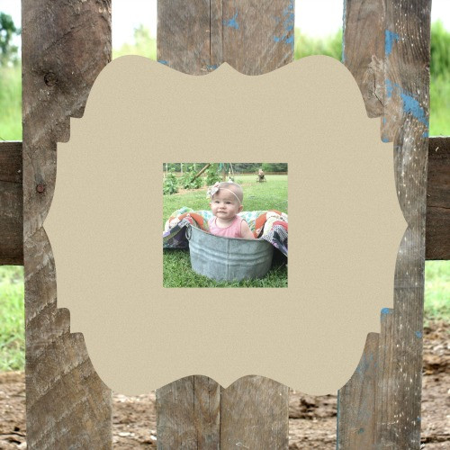 Wooden 4x4 Unfinished Custom Picture Frame, Wood Craft