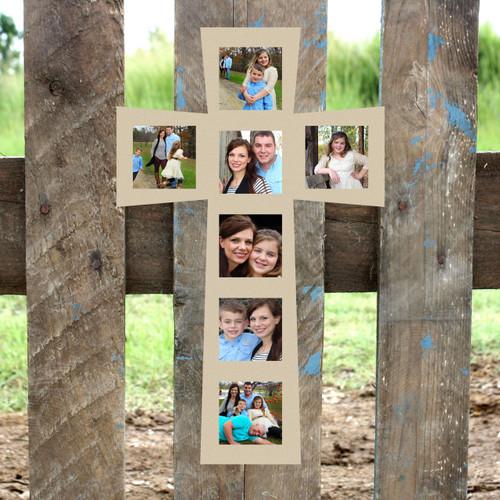4x4 Frames 7(4x4), Wood Art, Unfinished Wood Frame, Picture Frame