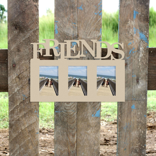 Friends Picture Frame Unfinished, DIY