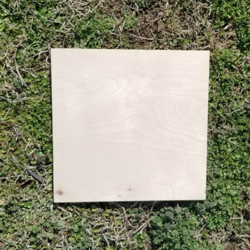 Unfinished Dropout 10 x 10 Birch Farmhouse Decor Farmers
