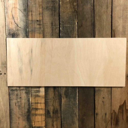 Unfinished Dropout 10 x 24 Birch Farmhouse Decor Farmers