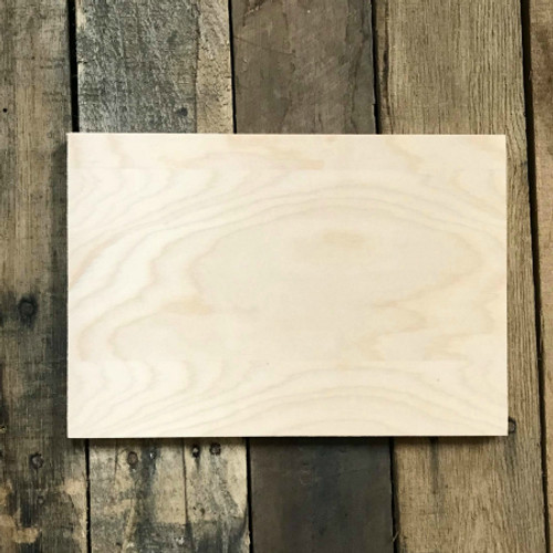 Unfinished Dropout 13 x 20 Birch Farmhouse Decor Farmers