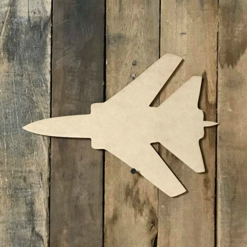 Jet Wooden Shape, Paintable Wooden MDF