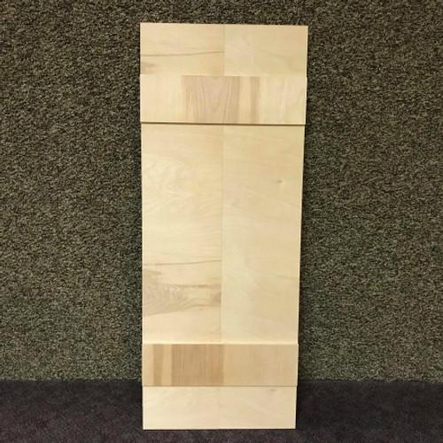 46'' Large Shudder, Unfinished Wood Shudder, White Pine, Photo Prop