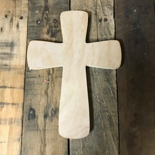 Unpainted Craft Cross, DIY Wooden Crosses, Wall Art Pine (16)