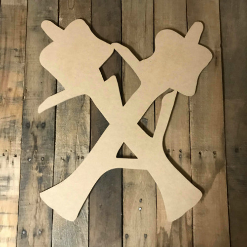 Stick with Smores, Craft Unfinished Wood Shape, Fall Wood Cutout
