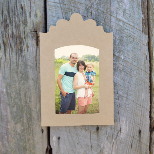 Wooden 5x7 Unfinished Picture Frame Paintable Wood Frames DIY Craft ...