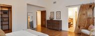 Barn Doors: Pair our beautiful barn door hardware with interesting materials for interior sliding doors
