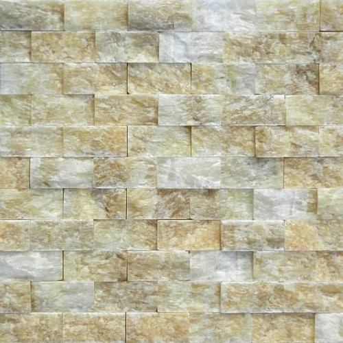 Honey Onyx 1x2 Mosaic Backsplash Surplus Building Materials