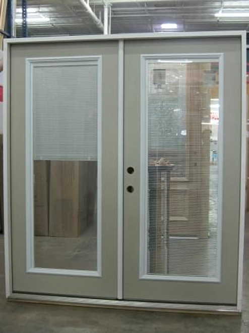 6\' French Door - Full Mini Blind - prehung-DOORS | FRENCH & PATIO ...