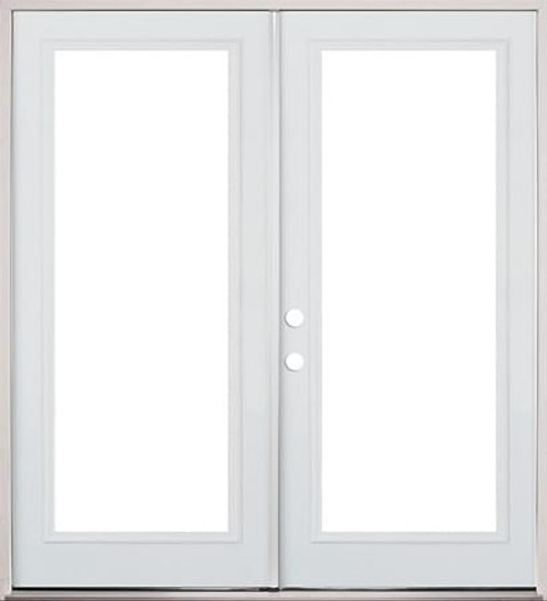 62\  66\  or 74\  Clearview French Metal Exterior Door ...  sc 1 st  Surplus Building Materials & Clearview French Metal Exterior Door - prehung-DOORS | EXTERIOR ...