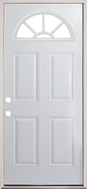 36Wagon Wheel Door / prehung/ Primed-DOORS | EXTERIOR DOORS | PRIMED ...