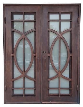 Simple surplus building materials wrought iron door Simple Elegant - Inspirational outside door with window Pictures