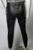 Vintage 1980s Black Leather Pants