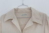 "SOLD 1970s ""Halston"" Beige Trench Length Button Up Coat"
