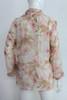 """90's """"Escada"""" Sheer Floral Cheetah Print Blouse"""