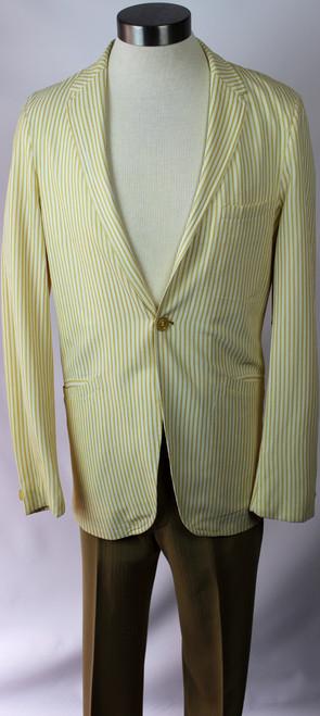 "Vintage 1960s ""The Executive"" Seersucker Jacket"